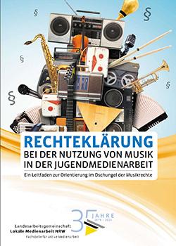 Rechteerklärung bei Nutzung von Musik in der Jugendmedienarbeit