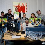 Jugendliche in der Radiowerkstatt