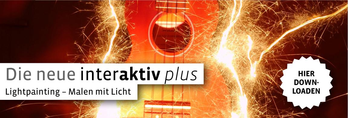 Auschnitt vom Cover Lightpainting Gitarre