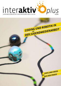 Coverseite zu InterAktiv plus 1 2019 Coding und Robotik